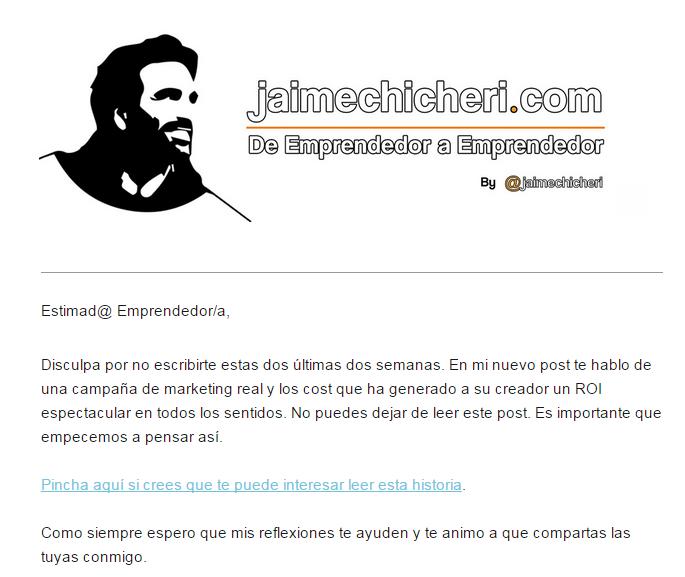 newsletter emprendedor