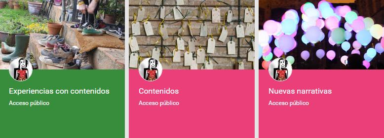 colecciones pagina google+
